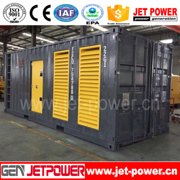 600 кВт/750 кВА контейнерного типа CUMMINS генератор дизельный двигатель