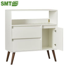 Modern sideboard/wooden simple cupboard design with showcase