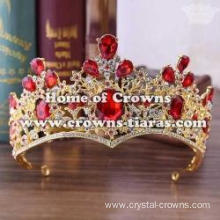 Baroque Crystal Wedding Queen Tiaras