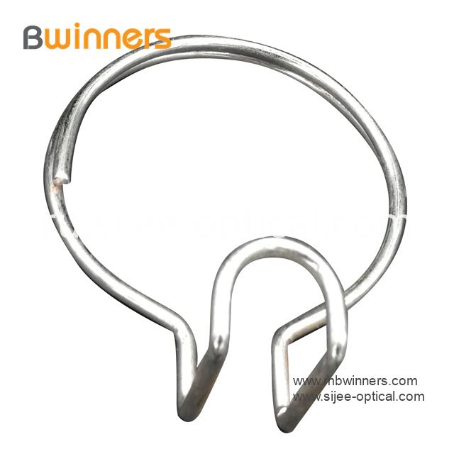 Fiber Optic Hanging Hardware Cable Manager Ring