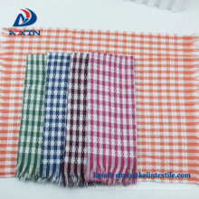 new products 2018 cotton waffle jacquard custom dishtowels