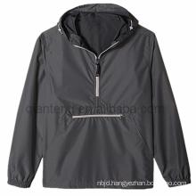 Women 1/4 Zip Sweater Custom Hoodie Windbreaker Pullover