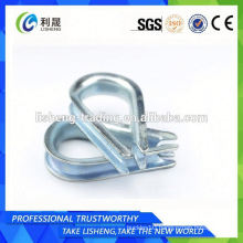 Good Supplier Aisi316 Din 6899a Wire Rope Thimble Or Cable Thimble
