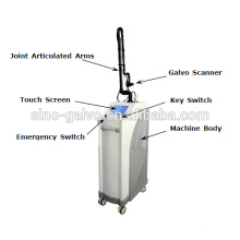 Sino-Galvo CO2 laser beauty machine for face whitening and beverage