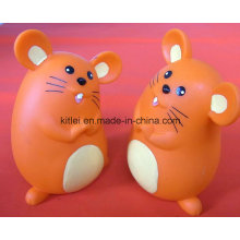 ICTI Mini PVC Weihnachtsgeschenk Lovely Customed Plastic Mouse Spielzeug