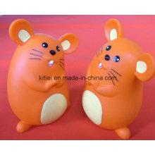 ICTI Mini PVC regalo de Navidad Lovely Customed juguete de plástico de ratón