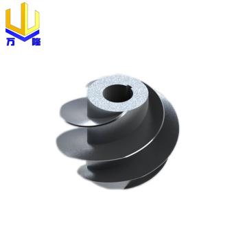 Rotor de ventilador de exaustão de vácuo de usinagem CNC