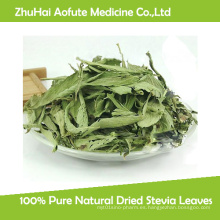 Hojas secas naturales puras del Stevia del 100%