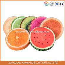 custom 40cm foam stuffed fruit shaped plush pillow