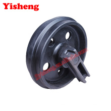 Daewoo DH80 excavator undercarriage parts excavator front idler wheel
