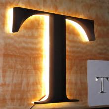 Prismatic Face Electronic LED Light Signage Display
