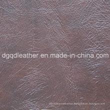 Top Selling Semi-PU Furniture Leather (QDL-51107)