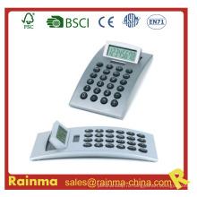 Калькулятор-серый серебристый цвет с формой полосы