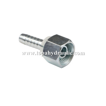 Suction hose splitter compression tube fitting