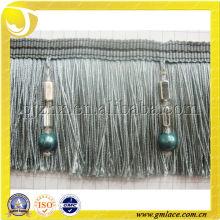 Home Textil des dekorativen Sofa Polyester Pinsel Fringe