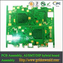 OEM RoHS ISO 9001: 2008 Cerâmica pcb placas em branco pcb