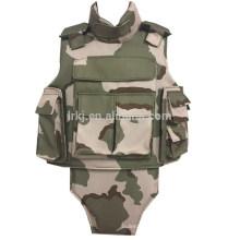 Level IIIA / III / IV militärische taktische Ganzkörper-Rüstung kugelsichere Weste