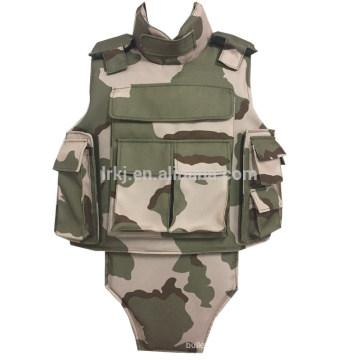 chaleco antibalas táctico militar de cuerpo completo IIIA / III / IV
