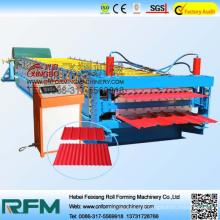 FX feitian double layer roof sheet roll forming machine