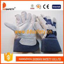 Gummierte Leahter Handschuhe Dlc216