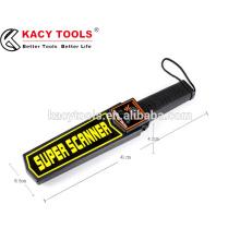 Detector de metales de alta sensibilidad detector de metales super escáner