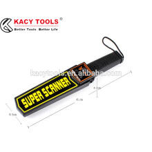 high sensitivity hand held metal detector super scanner