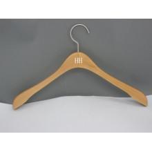 HH-Marke natürliche grundlegende Anzug Mantel Kleidung Kleiderbügel mit breiter Schulter