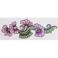 Costume provisório da tatuagem do pó favorável ao meio ambiente do brilho