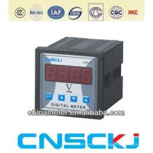 Voltmètre numérique monophasé 72 * 72mm avec alarme