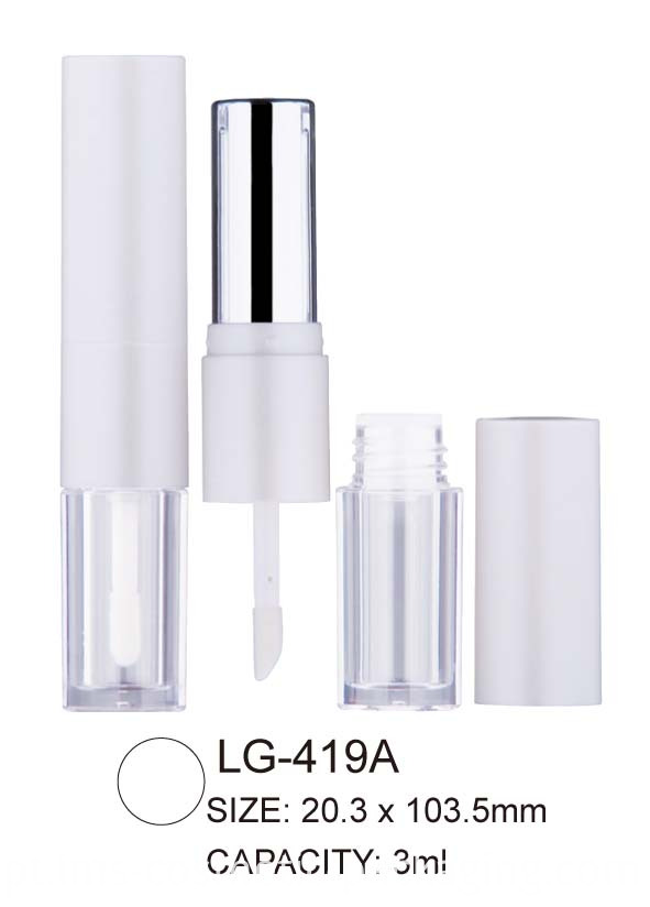 Round Lipstick/Lipgloss Packaging