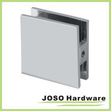 Support en verre de porte de douche carré chromé (BC201)