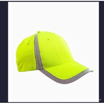 Sports Cap with High Visibility Reflective Tape