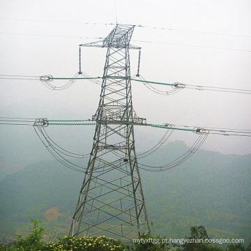 Torre de transmissão de potência de aço de 220 Kv