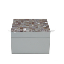 Розовые коробки раковины seashell выполненные на заказ коробки ювелирных изделий