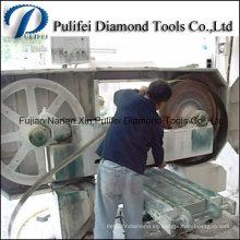 Hoja de sierra de banda de piedra de mármol de la banda de acero para la cortadora de hoja de mármol