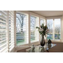 Heiß-Verkauf hoher Standard-nach Maß doppelter eingehängter Aluminiumplantagen-Fensterladen