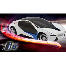 БМВ И8 дистанционного управления автомобиля светодиодные фонари 1/16 дистанционного управления двери