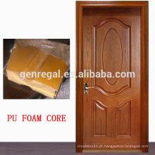 Painel de sanduíche de isolamento térmico pu MDF Door