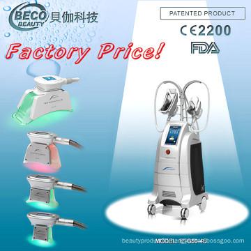4 Handle Cryolipolysis Weight Loss Beuaty Machine Etg50-4s