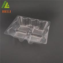 4 Delikli toptan plastik pasta pasta kutuları özelleştirilmiş