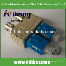 ST female SC multimode male duplex fiber adapter