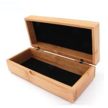 logo personnalisé en bois lunettes de soleil boîtes d'emballage de cas