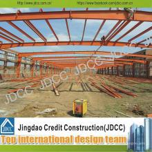 Estructura de acero galvanizada de alta calidad con precio bajo