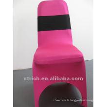 Pas cher et de haute qualité élastique chaise Sash, décoratif ceinture élastique pour mariage