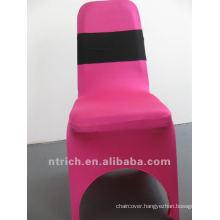 Cheap and High Quality Elastic Chair Sash, Decorative Elastic Sash for Wedding