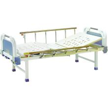 Muebles para hospitales cama de hospital móvil con cabeceras de ABS B-18-1