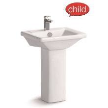 3206 Child Ceramic Pedestal Basin