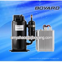 Compresor de Lanhai 12V BLDC para el compresor del ac del coche eléctrico del acondicionador de aire