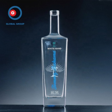 500ml Square Liquor Glasflasche