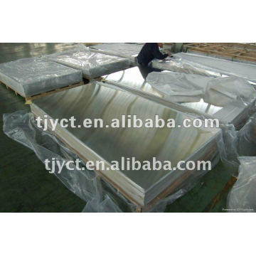 BA Stainless Steel Plate